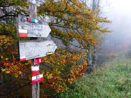 Passo della Calla cartelli escursionistici