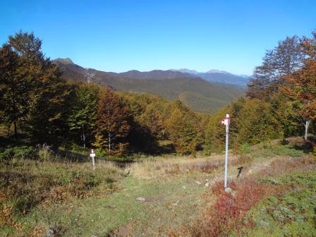 Passo Boccaia sentieri Lago Santo