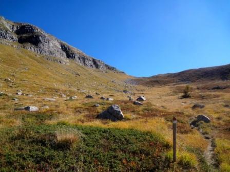Piano dell'Altaretto sentieri Monte Giovo