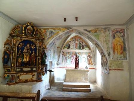 Tre Chiese Dreikirchen interno