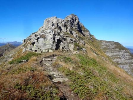 Monte Giovo cresta sentiero 00