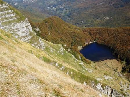 Lago Baccio da Monte Giovo