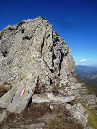 Monte Giovo cresta Grotta Rosa