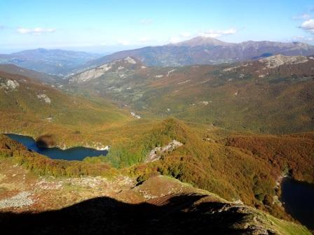 Lago Santo e Lago Baccio da sentiero 525