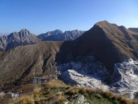Monte Sagro visto da Monte Borla