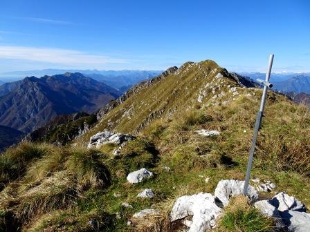 Monte Zaiavor croce e cresta