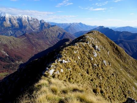 Monte Zaiavor cresta