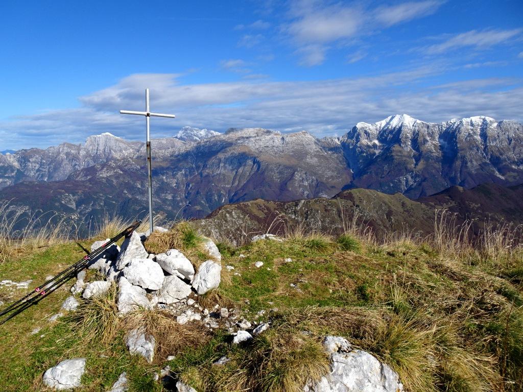 Monte Zaiavor croce di vetta