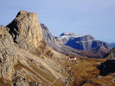 Rifugio Alpe di Tires Piz Boè
