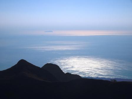 Isola di Gorgona da Monte Sagro