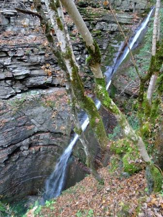 Cascata superiore della Pollina (Castellino di Riolunato)