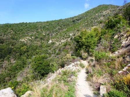 Sentiero Verde Azzurro Moneglia Riva