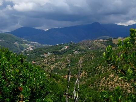 Valle Lago Sentiero verde azzurro