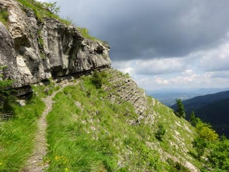 Traccia Lago Pratignano Grotta delle Fate