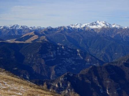 Cima d'Asta da Monte Pavione