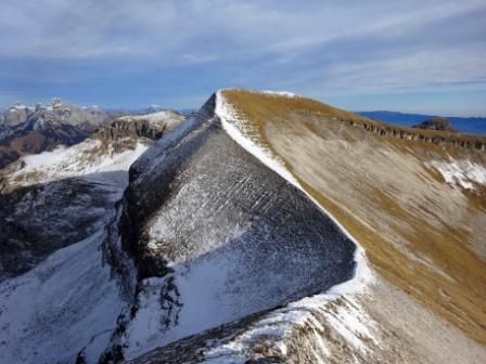 Col di Luna cresta Monte Pavione Rifugio Dal Piaz