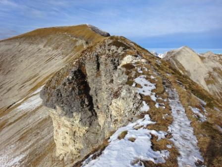 Vette Grandi cresta Monte Pavione Rifugio Dal Piaz