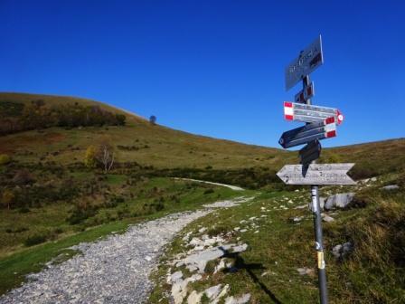 mulattiera Monte San Primo Colma di Sormano - Alpe Spessola