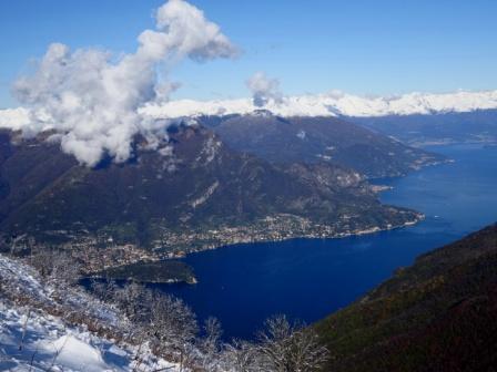 Lago di Como da Monte San Primo
