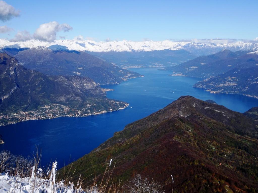 Lago di Como dal Monte San Primo