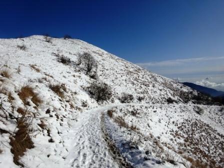 mulattiera Monte San Primo Colma di Sormano