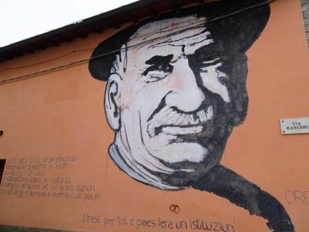 Palagano murales Oreste