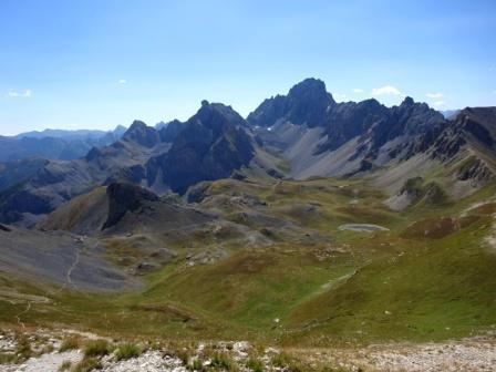 Monte Oronaye da Monte Soubeyran