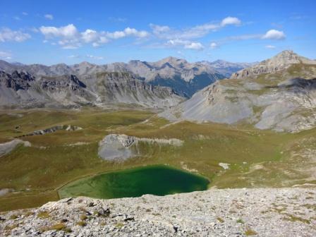 Lac de la Reculaye Monte Soubeyran