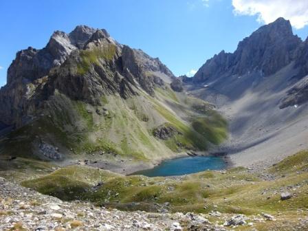 Lago d'Apsoi e Monte Oronaye