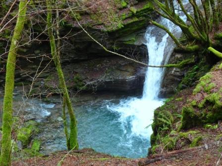 Cascata Rio Gelana sentiero 827C