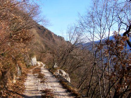 sentiero Gargnano Sasso