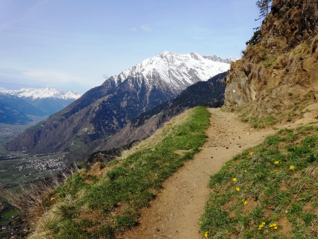 Alta Via di Merano Hans Frieden Weg