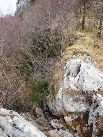 canalino Monte Matanna Rifugio Forte dei Marmi