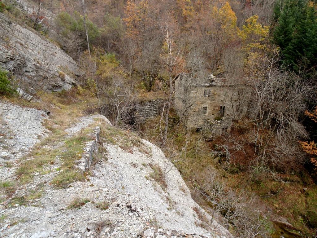 Mulino sentiero 473 Castellino Scoltenna