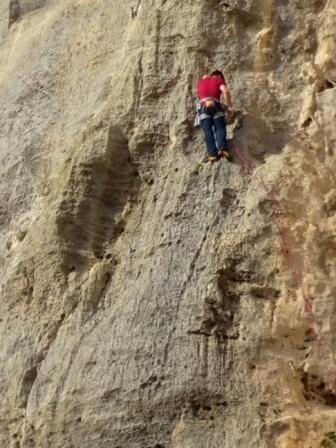 Rocca di Corno arrampicata