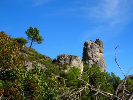 Varigotti pinnacoli sentiero Balcone