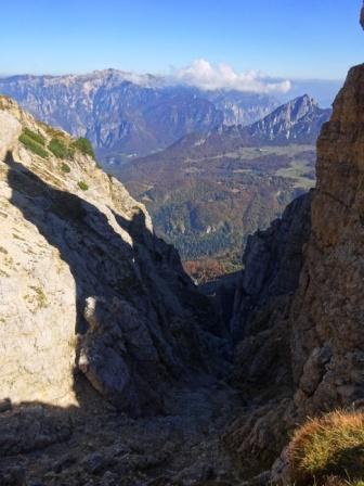 Bocchetta Mosca Pasubio Monte Cornetto