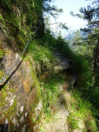 sentiero 173 alpi Apuane