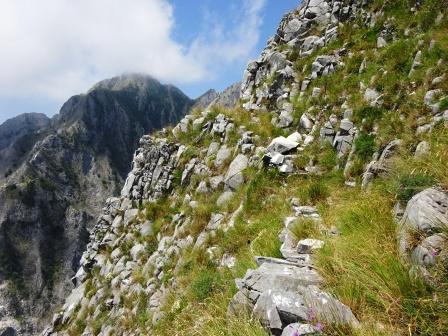 Giro del Monte Sagro sentiero 172 Monte Maggiore