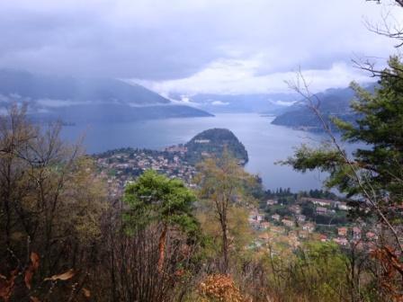 Bellagio Lago di Como vista