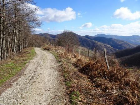 Sentiero 555 Passo della Peschiera