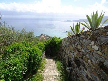sentiero Zoagli Madonnetta Portofino