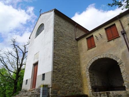 Zoagli Santuario della Madonnetta