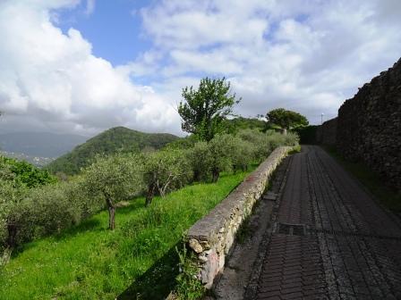 Sant'Andrea di Rovereto sentieri Madonnetta Chiavari