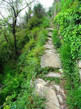 sentiero panoramico delle Grazie Chiavari