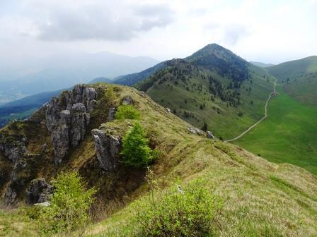sentiero Pizzo Formico Montagnina
