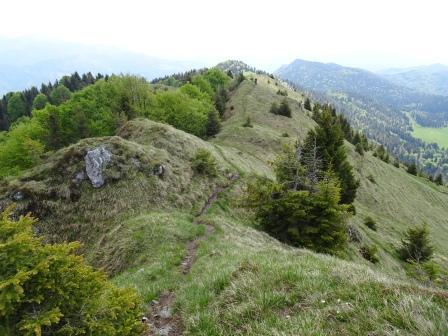 sentiero Pizzo Formico Montagnina Rifugio Parafulmine