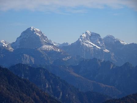 Mangart Jalovec Monte Triglav