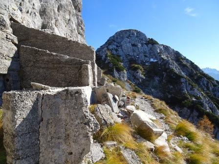 Monte Piper Sentiero Battaglione Gemona