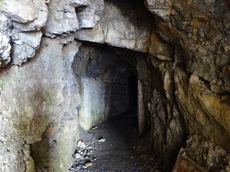 Caserma Monte Scale tunnel